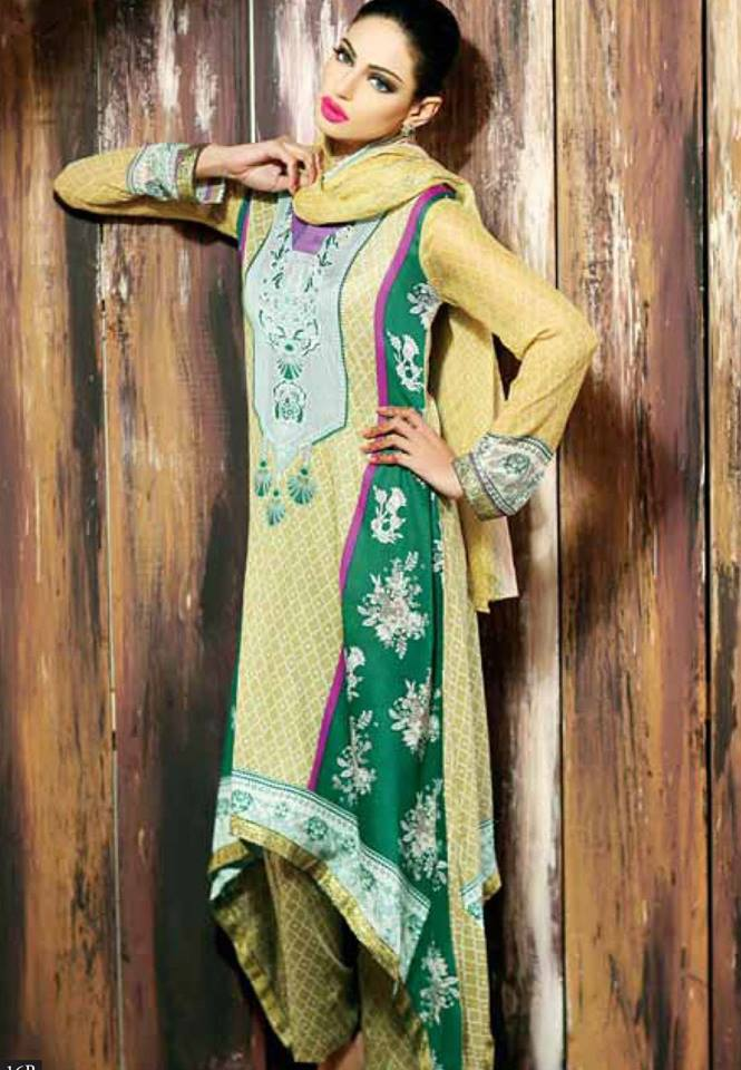 Libas Winter Crinkle Dresses Collection 2015-2016 by Shariq Textiles (25)