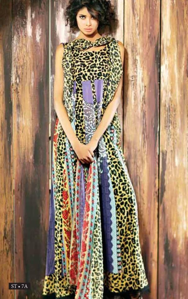 1dddc802af Libas Winter Crinkle Dresses Collection 2015-2016 by Shariq Textiles (27)
