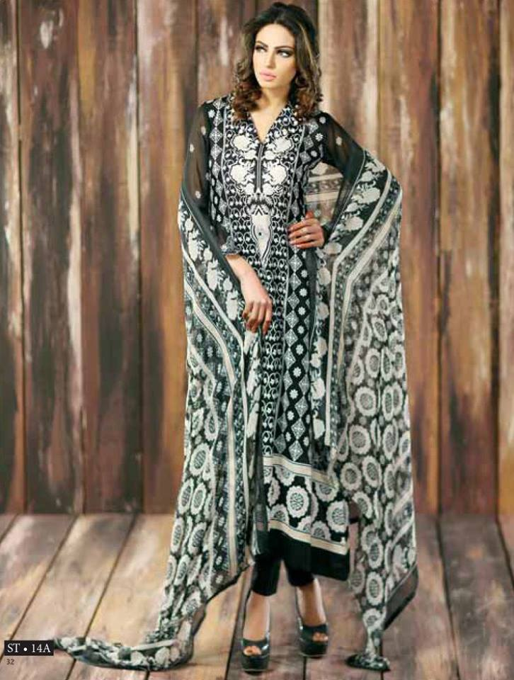 Libas Winter Crinkle Dresses Collection 2015-2016 by Shariq Textiles (3)