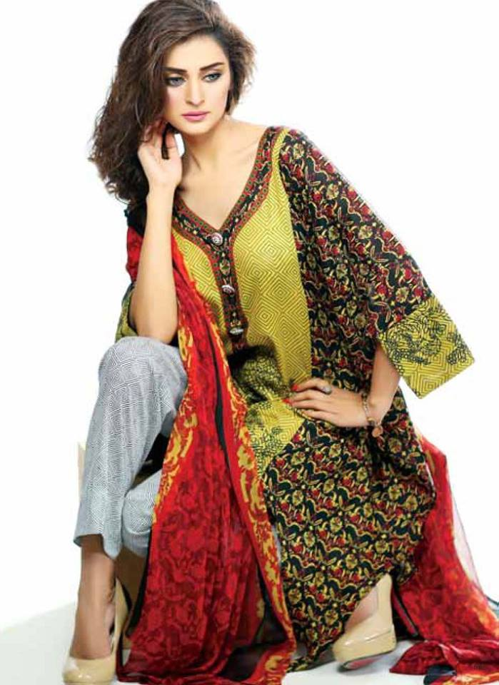 4066f03be2 Libas Winter Crinkle Dresses Collection 2015-2016 by Shariq Textiles (30)