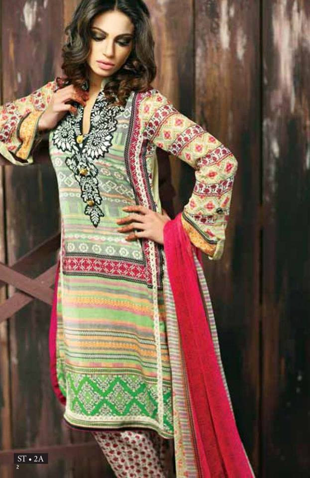 Libas Winter Crinkle Dresses Collection 2015-2016 by Shariq Textiles (4)