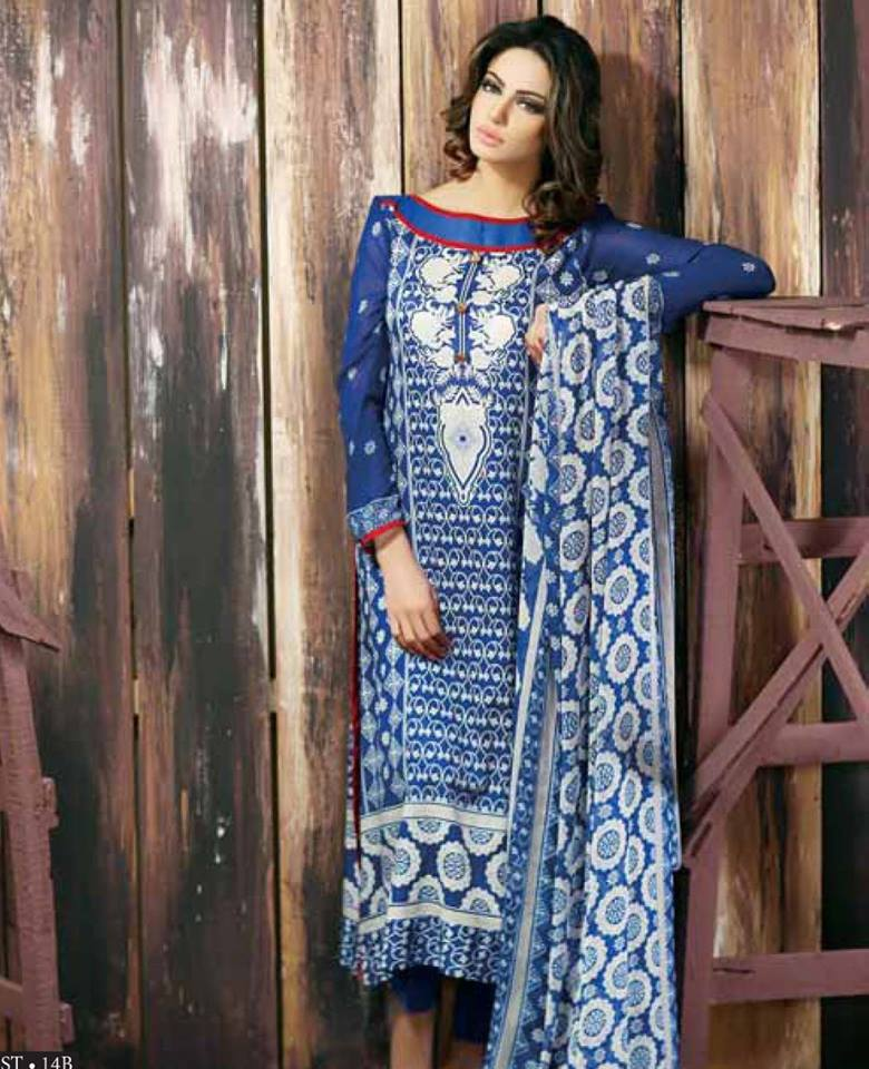 Libas Winter Crinkle Dresses Collection 2015-2016 by Shariq Textiles (6)