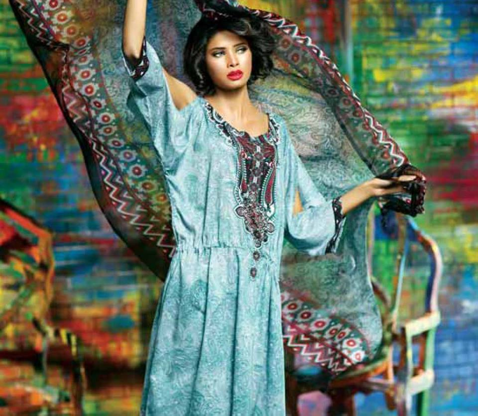 Libas Winter Crinkle Dresses Collection 2015-2016 by Shariq Textiles (7)