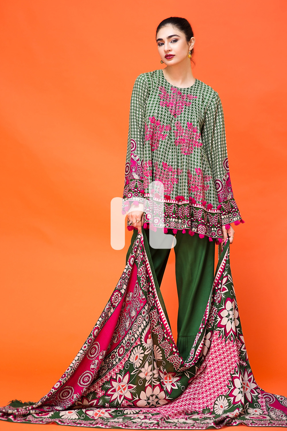 Nishat Linen Winter Dresses Collection 2017-2018 Stitched ...
