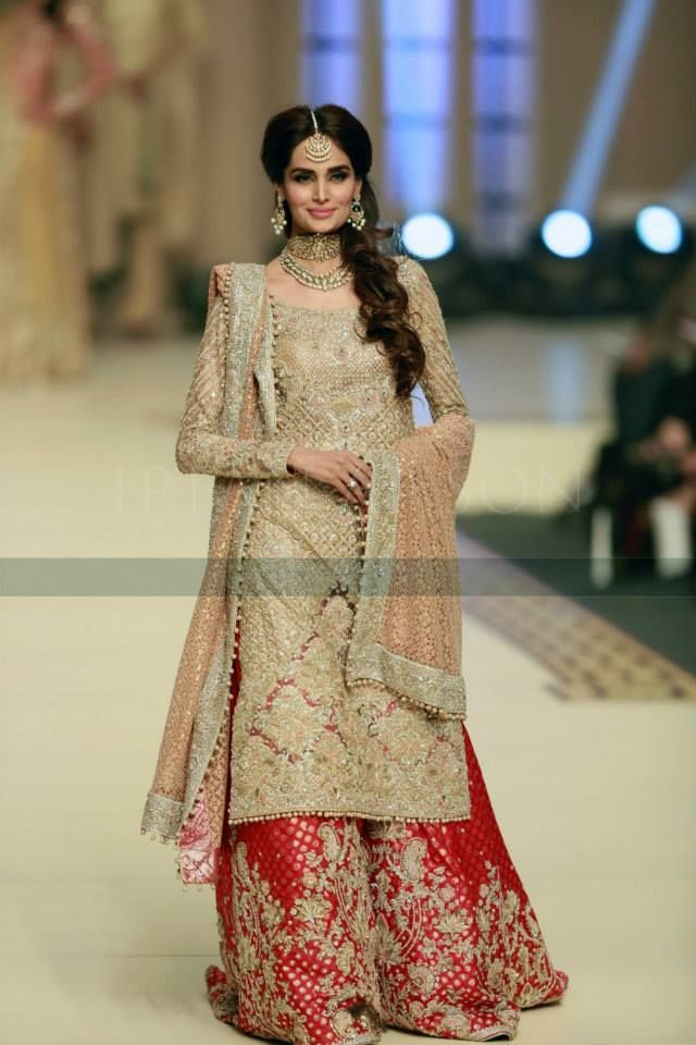 Latest Wedding Bridal Sharara Designs Trends 2018 2019 Collection