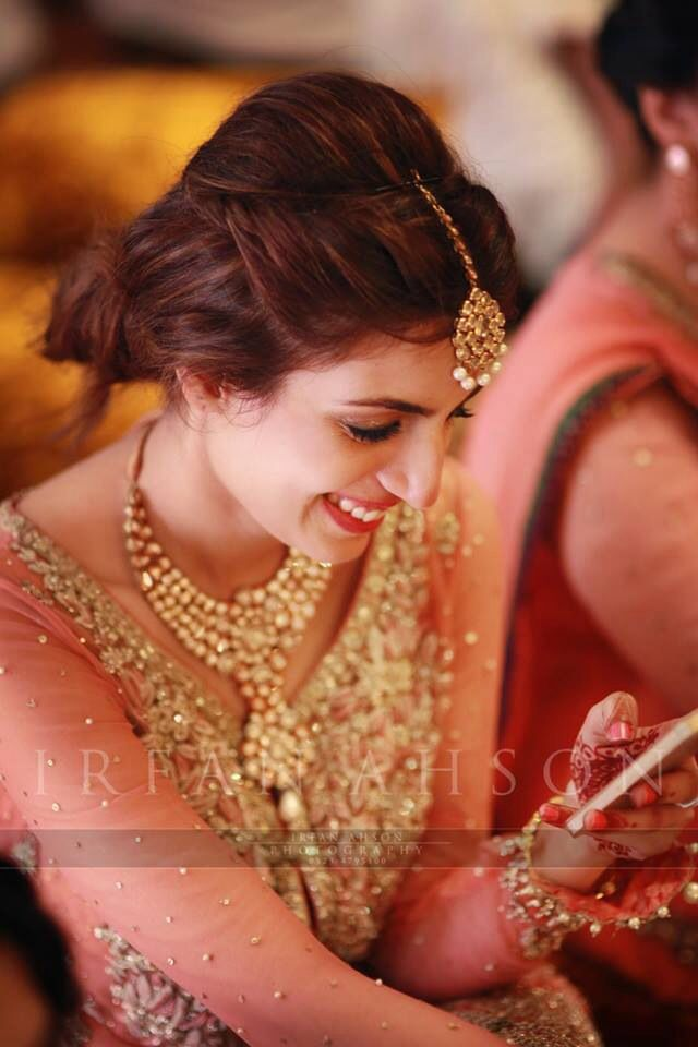 Latest Pakistani Bridal Wedding Hairstyles Trends 2018 ...