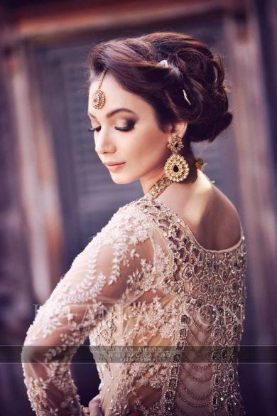 Latest Pakistani Bridal Wedding Hairstyles Trends 2018