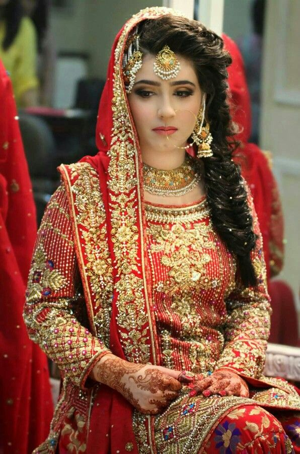 Latest Pakistani Bridal Wedding Hairstyles Trends 2018 2019 Collection