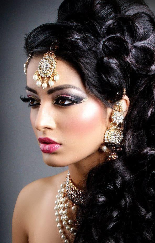 Latest Pakistani Bridal Wedding Hairstyles Trends 2016-2017