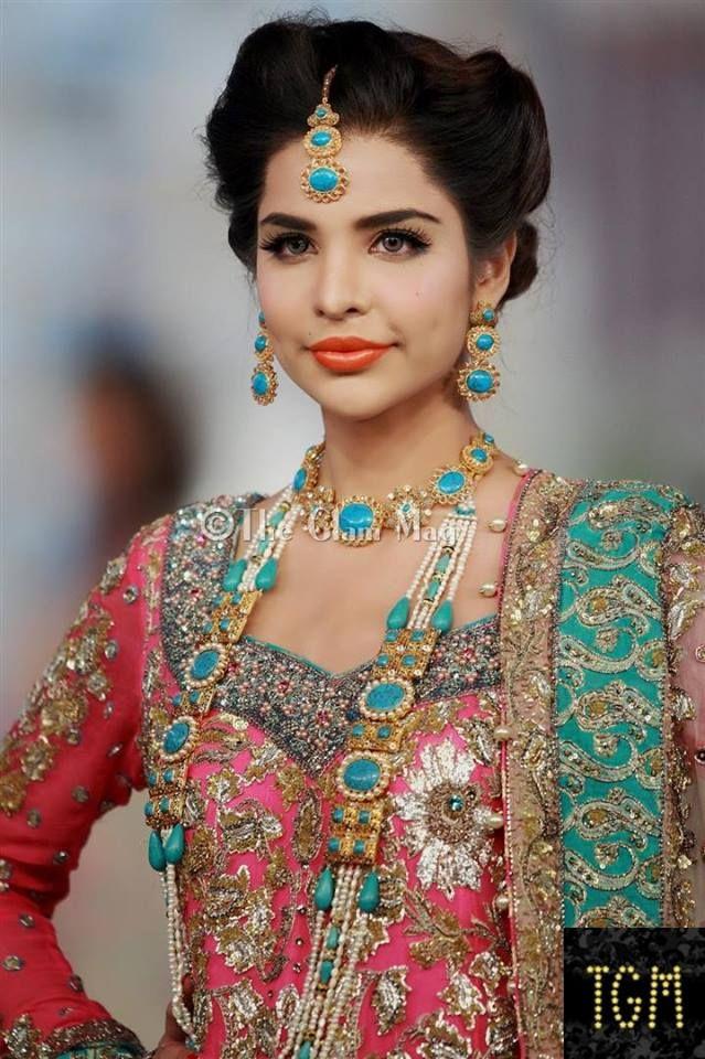 Pakistani Bridal wedding Hairstyles Trend (23)