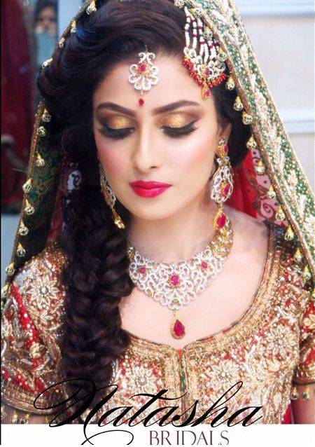 Latest pakistani bridal wedding hairstyles trends 2017 2018 collection see more as beautiful wedding hairstyles for asian bridals latest formal party wear junglespirit Images