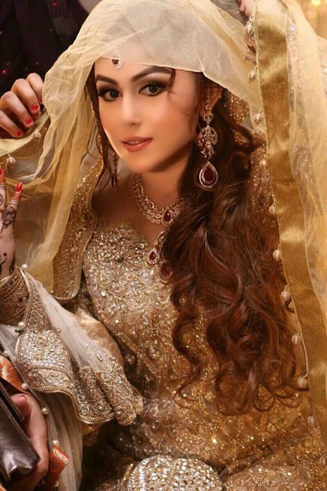 Latest Pakistani Bridal Wedding Hairstyles 2016-2017 | StylesGap.com