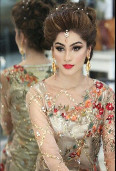 Latest pakistani bridal wedding hairstyles trends 2018 2019 collection see more as beautiful wedding hairstyles for asian bridals latest formal party wear junglespirit Choice Image