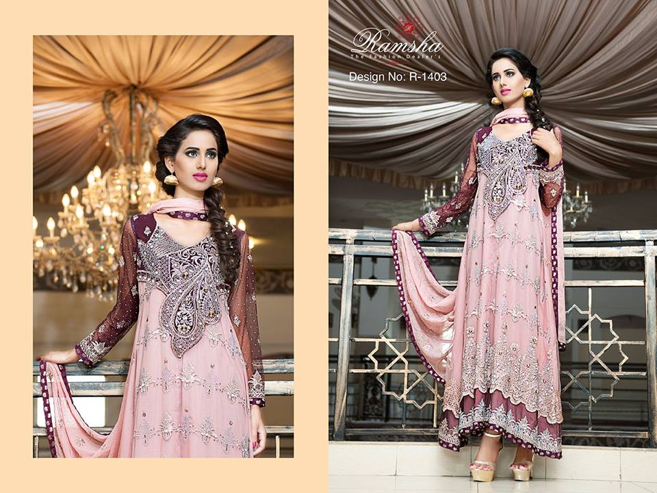 Pakistani Party Wear Frocks & dresses 2015-2016 (1)