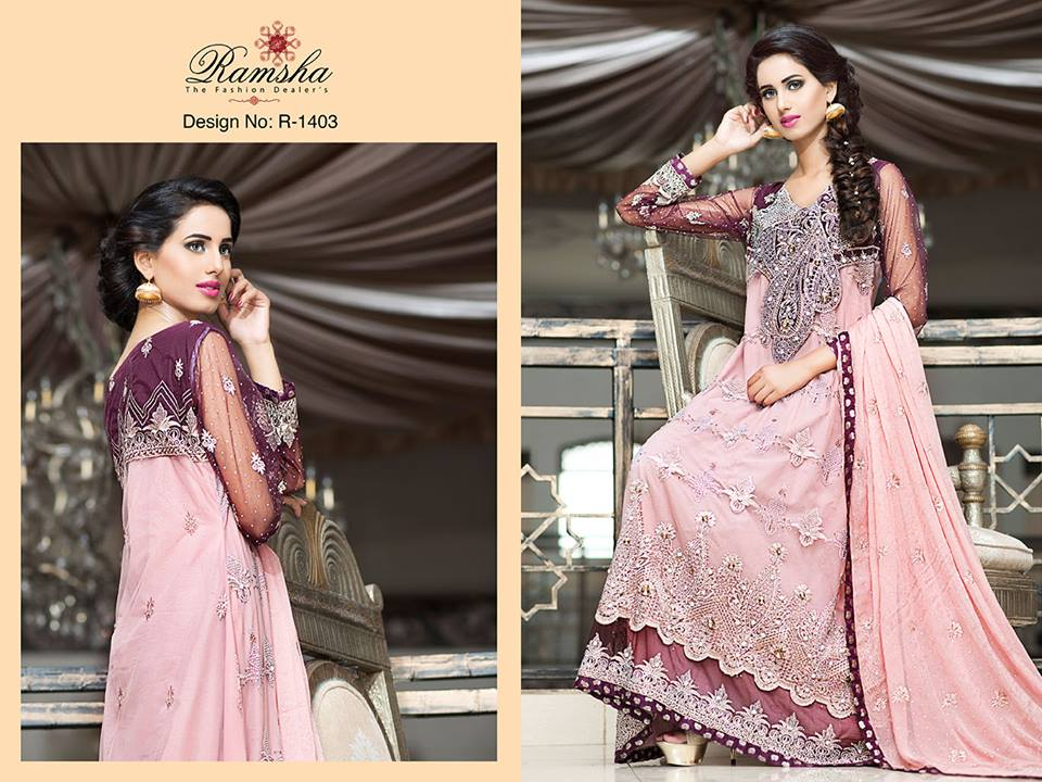 Pakistani Party Wear Frocks & dresses 2015-2016 (12)