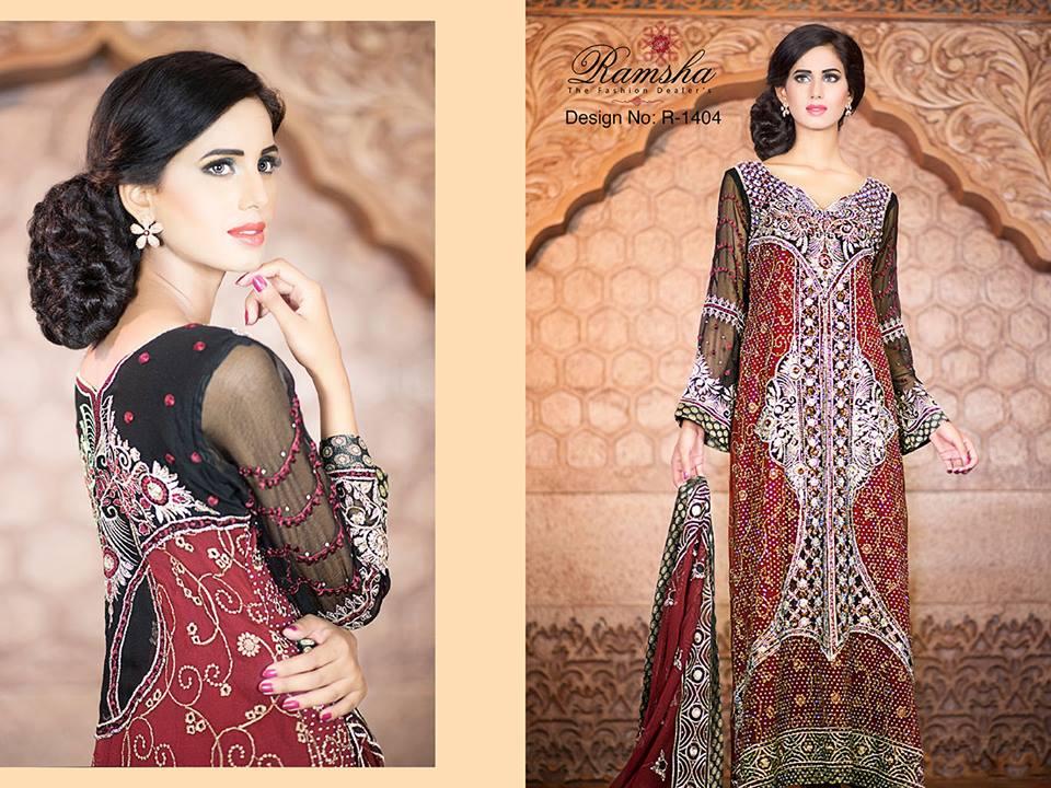 Pakistani Party Wear Frocks & dresses 2015-2016 (5)