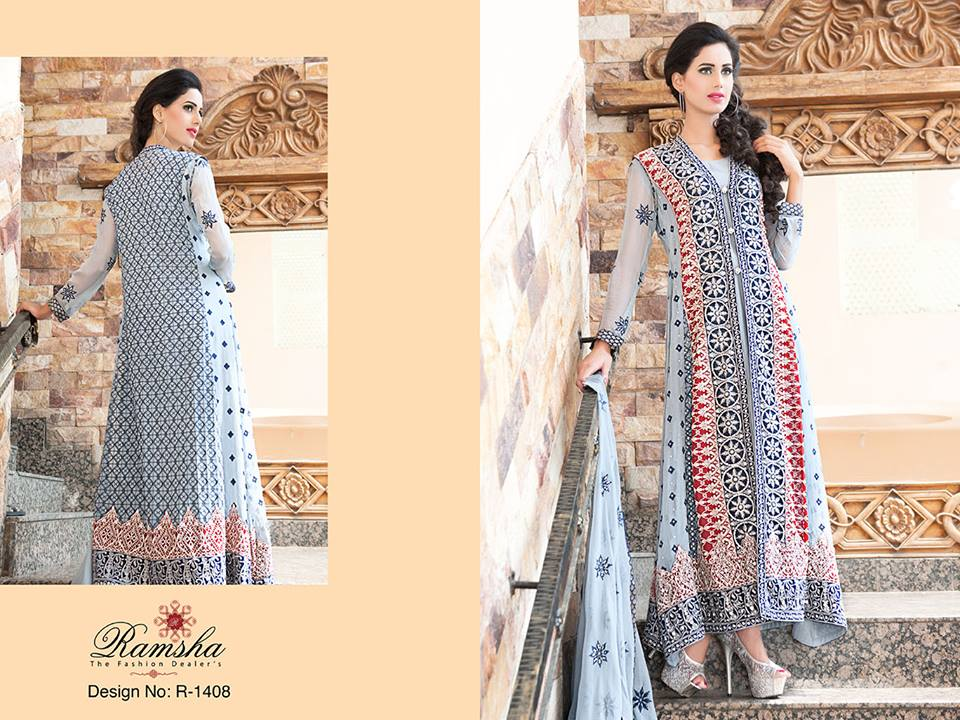 Pakistani Party Wear Frocks & dresses 2015-2016 (8)