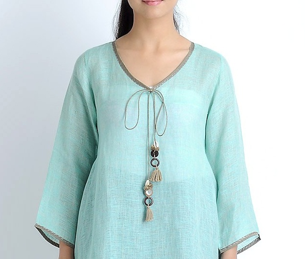 Tops and Shirts Neckline Designs Collection (1)