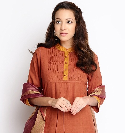 Tops and Shirts Neckline Designs Collection (2)