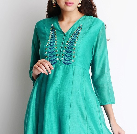Tops and Shirts Neckline Designs Collection (5)