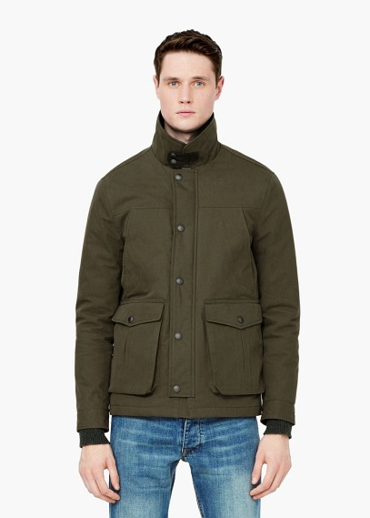 WATER REPELLENT COTTON JACKET