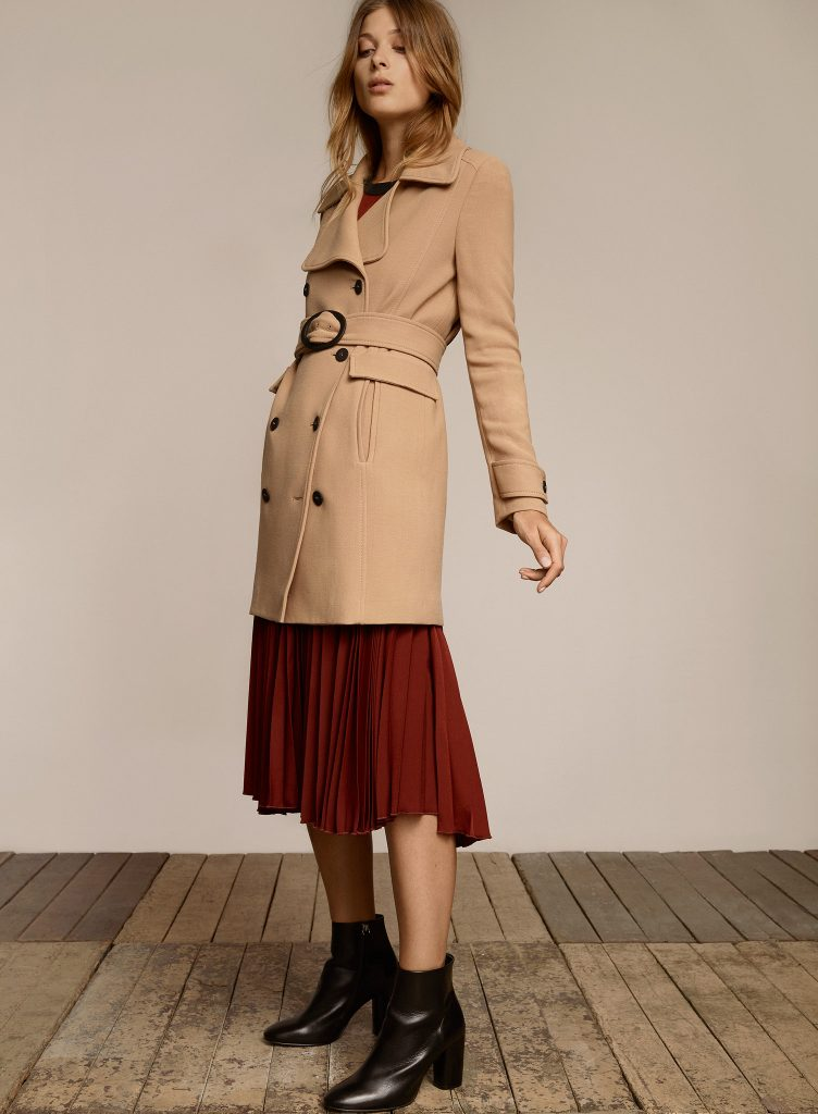 coat and ankle boat