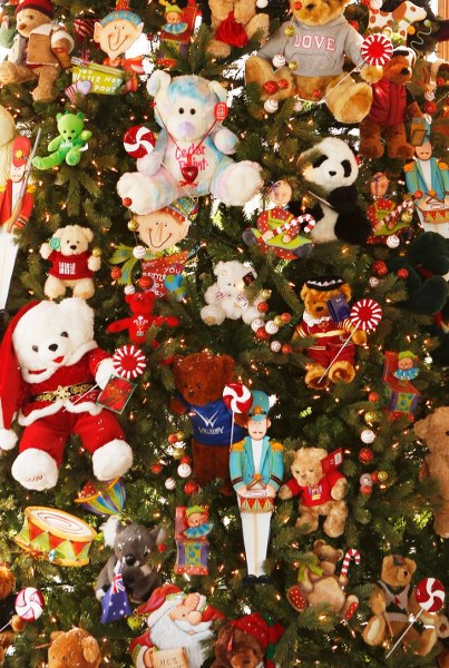 toy animals Christmas tree_403x600