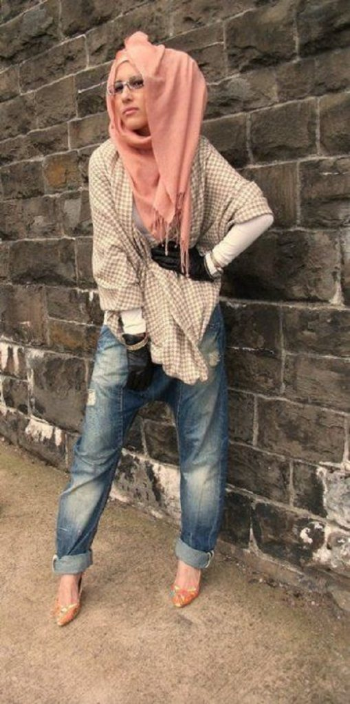 Casual Wear Hijab Styles with Jeans Trends 2016-2017 (11)