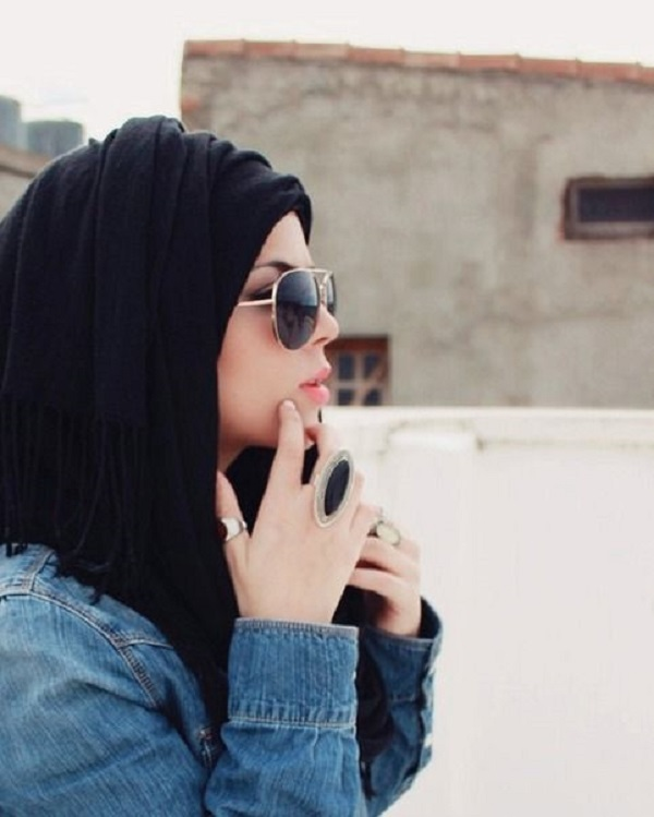 Casual Wear Hijab Styles with Jeans Trends 2016-2017 (23)