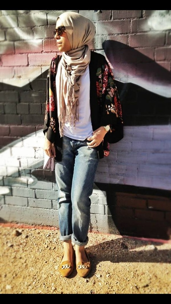 latest casual hijab styles with jeans 20182019 trends amp looks