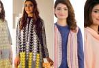 EGO Winter Designs Ladies Kurta Collection 2015-2016
