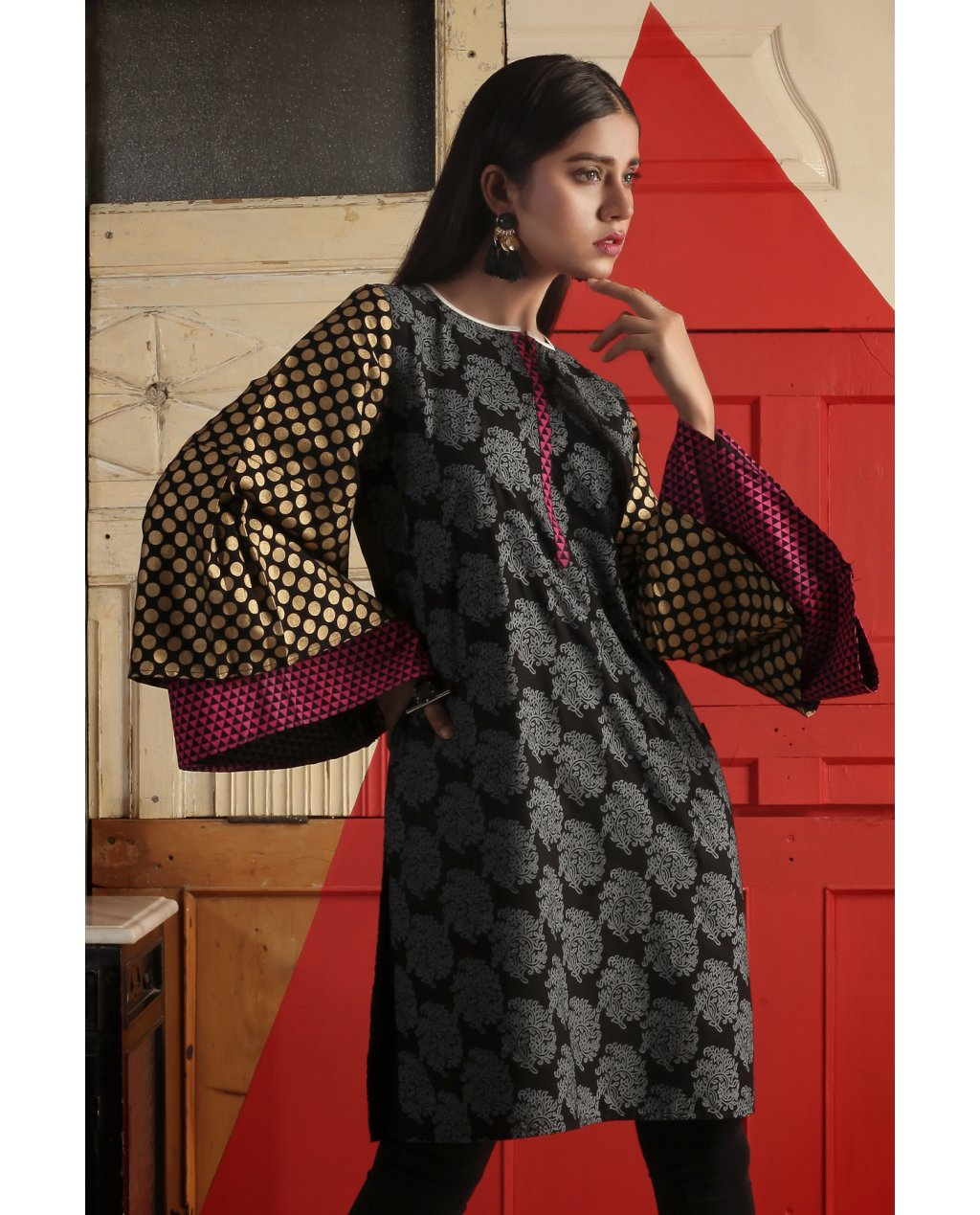 Ego Winter Ladies Kurta Designs Collection 2018 19 Trends