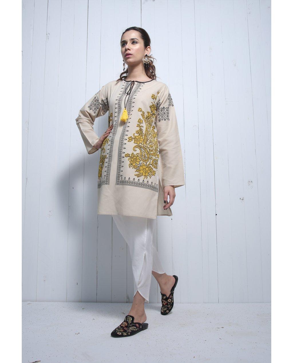 EGO Winter Ladies Kurta Designs Collection 2018-19 Trends