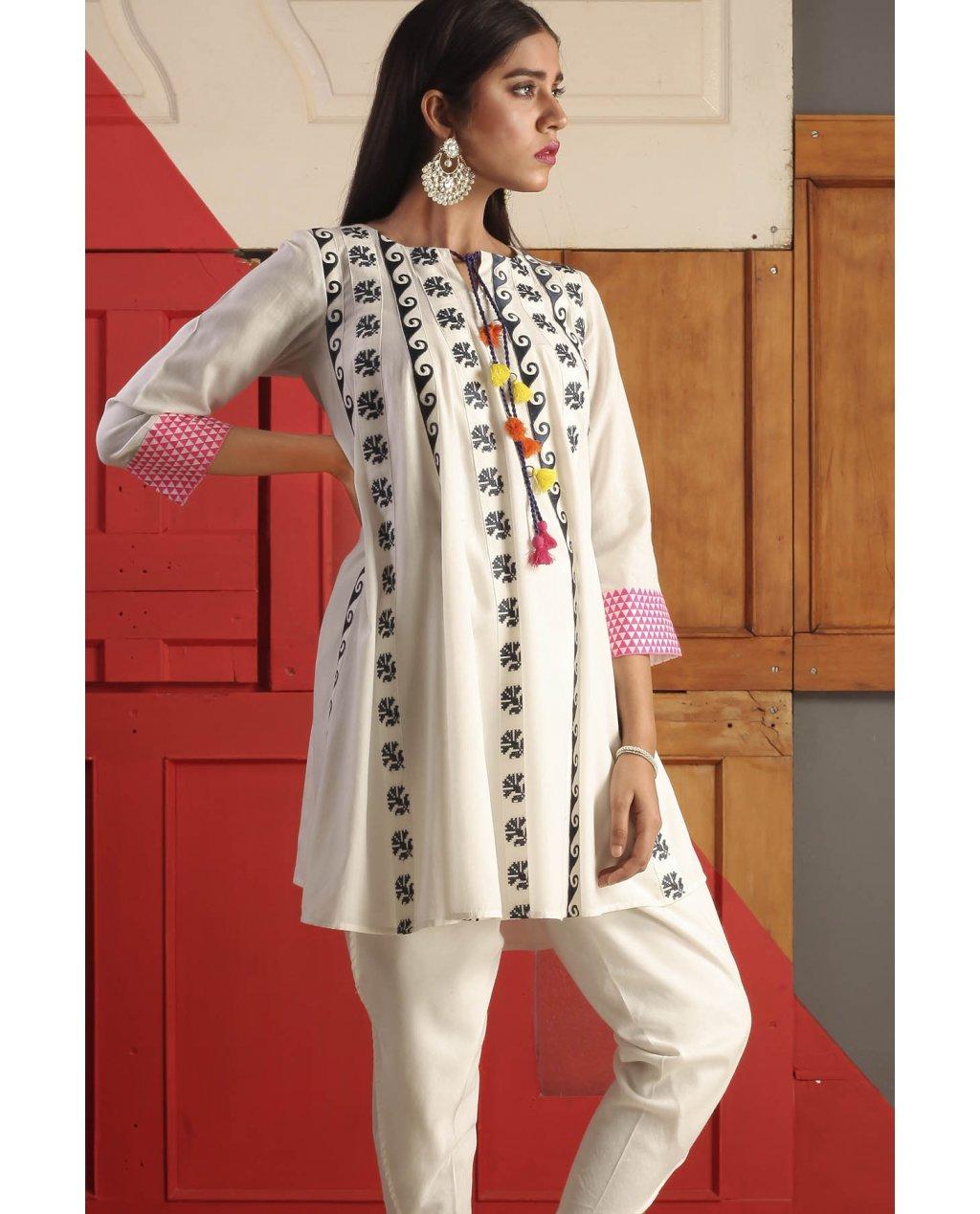 Ladies kurta style 2018 dress