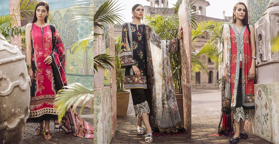 Ethnic by Outfitters Stylish Winter Shirts Dresses Designs Collection 2018-2019