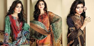 Ethnic by Outfitters Stylish Winter Suits Collection 2015-2016