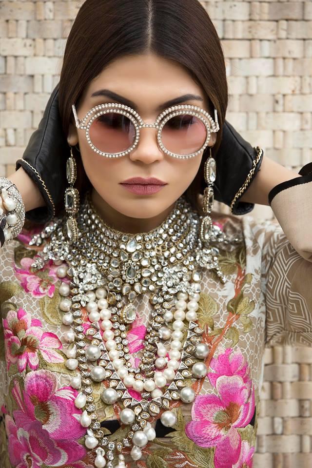 e374f7639e Latest Sana Safinaz Winter Shawl Dresses Collection 2017-2018 (6 ...