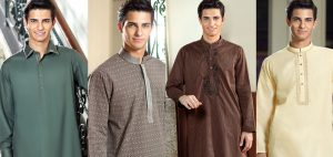 Latest Winter Kurtas & Shalwar Kameez Collection by Cambridge