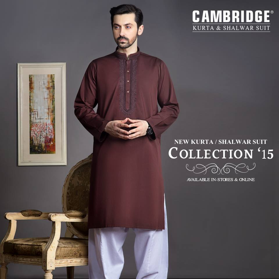 Latest winter kurta salwar collection by Cambridge 2016 (5)
