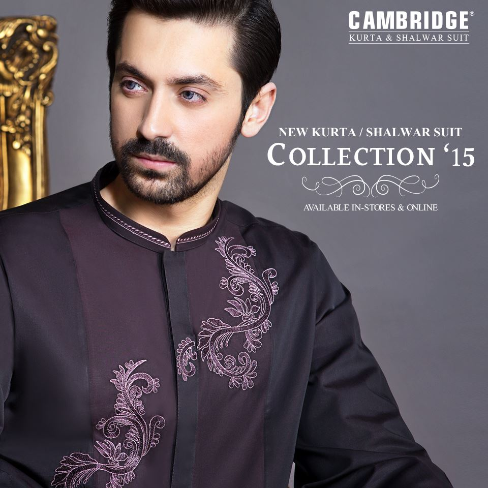 Latest winter kurta salwar collection by Cambridge 2016 (6)