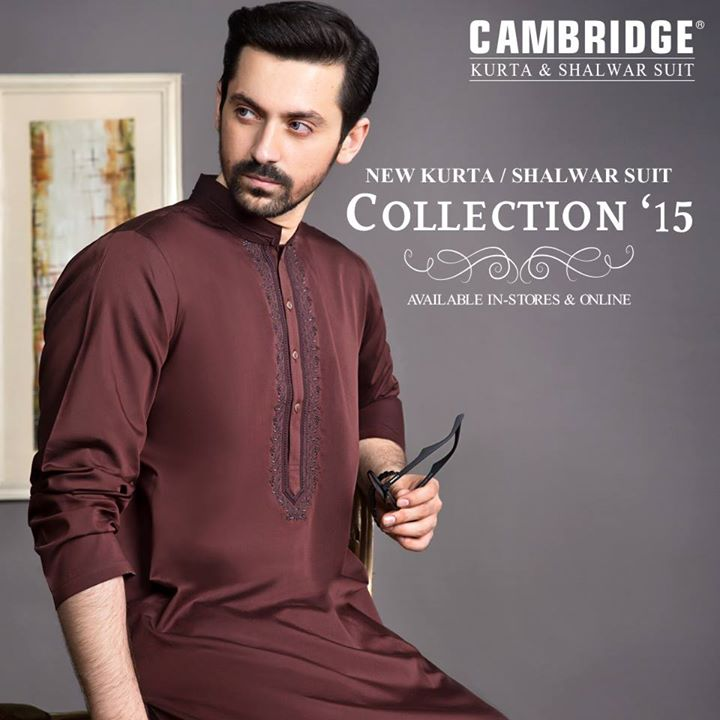 Latest winter kurta salwar collection by Cambridge 2016 (7)