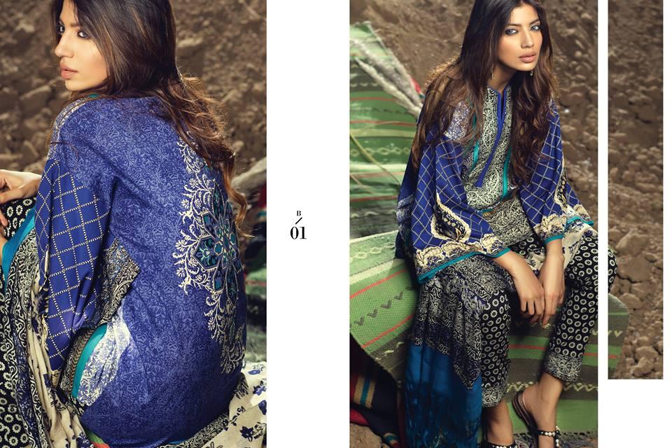 3535910879 Sana Safinaz Winter shawl dresses collection 2015-2016 (6 ...