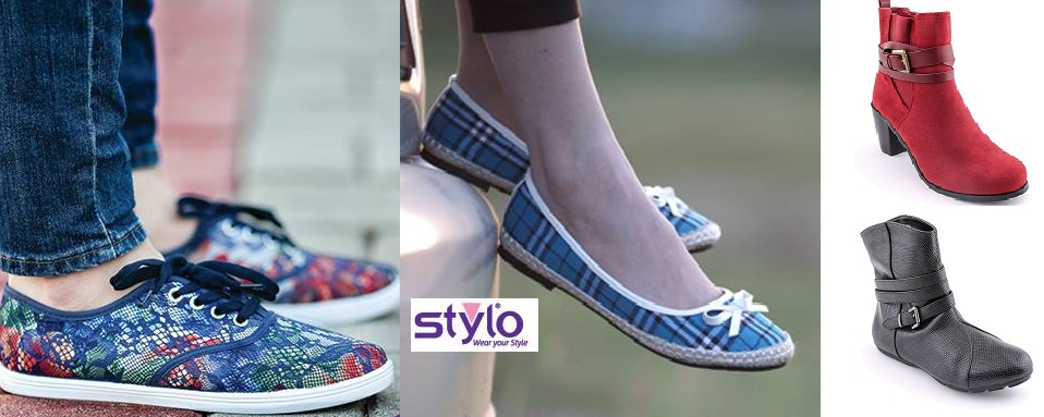 Stylo Winter Shoes Boots & Pumps Collection 2016-2017