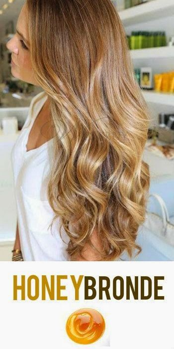 honey blonde hairs