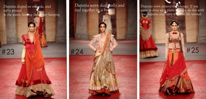 10 Best Ways to Style & Drape Dupattas for Indian & Pakistani Brides (2)