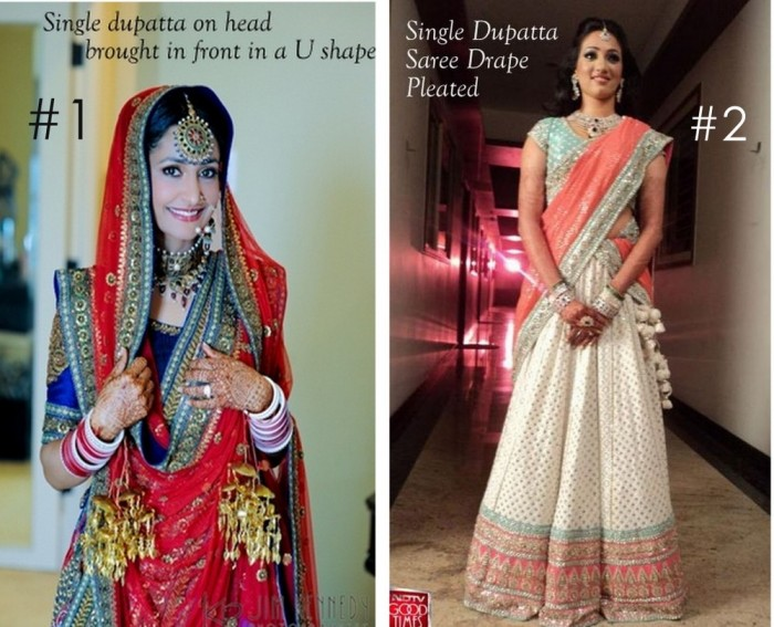 10 Best Ways to Style & Drape Dupattas for Indian & Pakistani Brides (3)