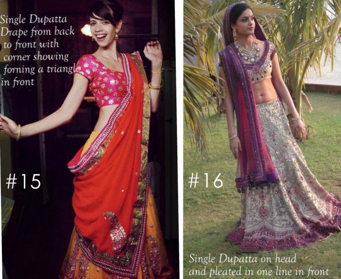 10 Best Ways to Style & Drape Dupattas for Indian & Pakistani Brides (7)