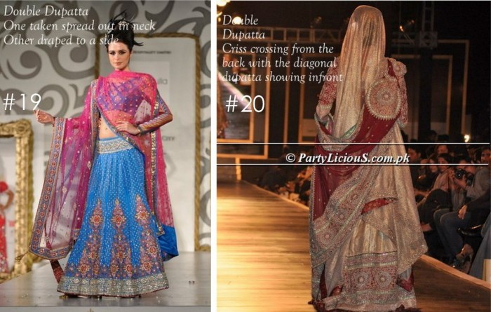 10 Best Ways to Style & Drape Dupattas for Indian & Pakistani Brides (9)