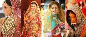 Bridal Dupatta Setting-10 Best Ways to Style/ Drape Dupattas for Asian Brides
