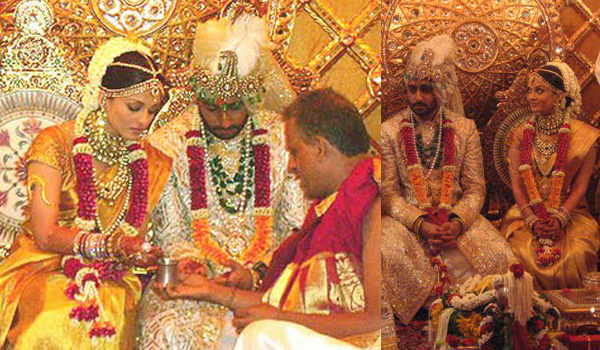 Aishwarya Rai- Top 10 Famous Indian Celebrity Wedding Dresses Trends (3)